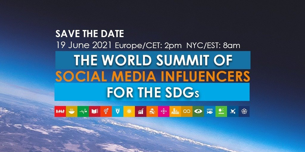 World Summit of Social Media Influencers for the SDGs